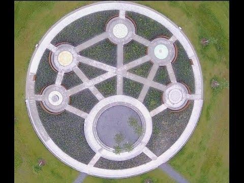 Rundflug Garten Der Religionen Karlsruhe Youtube