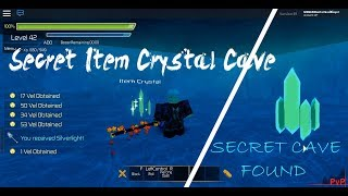Sword Burst 2 - France Cave secrète sur le plancher 3 (fr) Article Crystal #2 Roblox