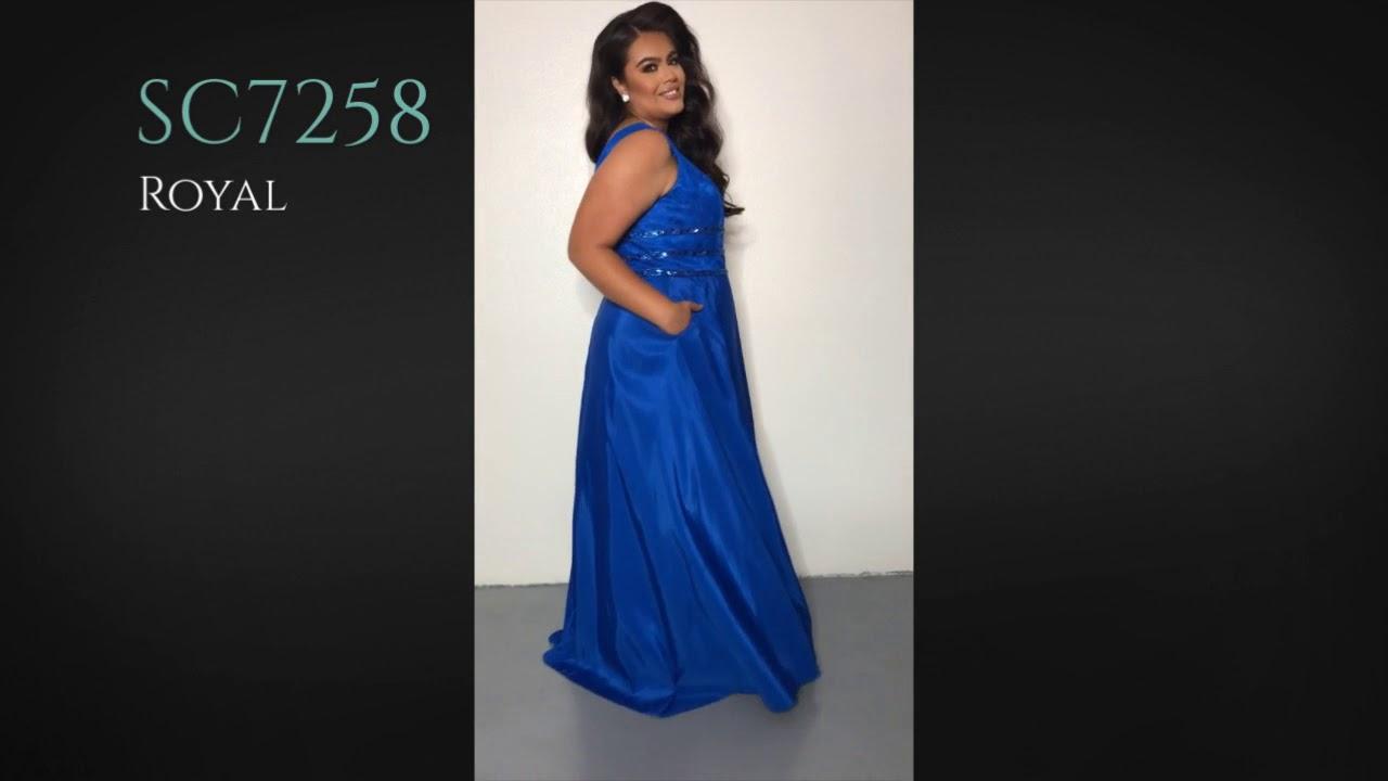 Plus Size Formal Prom Dress SC7258 by Sydney\'s Closet