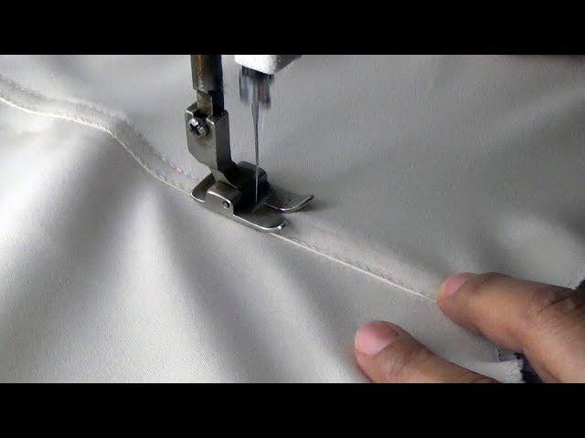 Como fazer uma costura de pesponto Na Ponta Dagulha