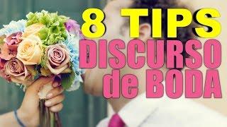Discursos de Bodas Espectaculares: 8 TIPS para dar el Mejor Discurso de Boda