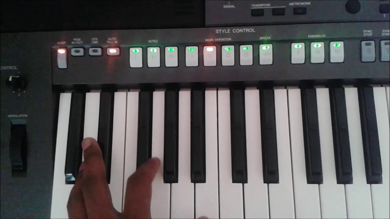 Indian styles for yamaha keyboards