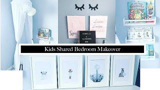KIDS BEDROOM MAKEOVER   KIDS ROOM IDEAS ON A BUDGET   24 HOUR CHALLENGE   SURPRISING KIDS