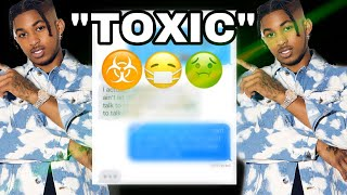 "DDG ""TOXIC"" LYRIC PRANK ON EX 