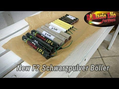 Di Blasio Elio - Comparison New F2 Black Powder Firecrackers 2017 | Ares 1, Cobra 3 R + Reibkopf!