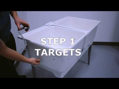 peel 3d™ | Handheld 3D Scanner Demo | Industrial Sink