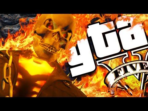GTA V PC - Motoqueiro Fantasma INSANO! (MODS)