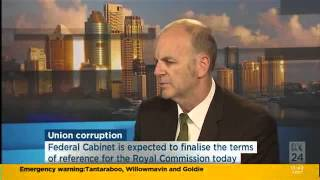 Royal Commission - Union Corruption And Governance