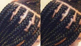 Tips and Tricks: Box Braid like a Professional|Protective Styles Part 2