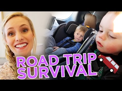 How To Survive With Two Toddlers On A Road Trip