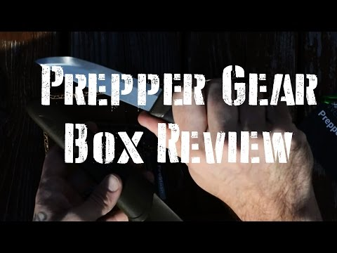 Prepper Gear Box Initial Box Review: Monthly Survival Gear
