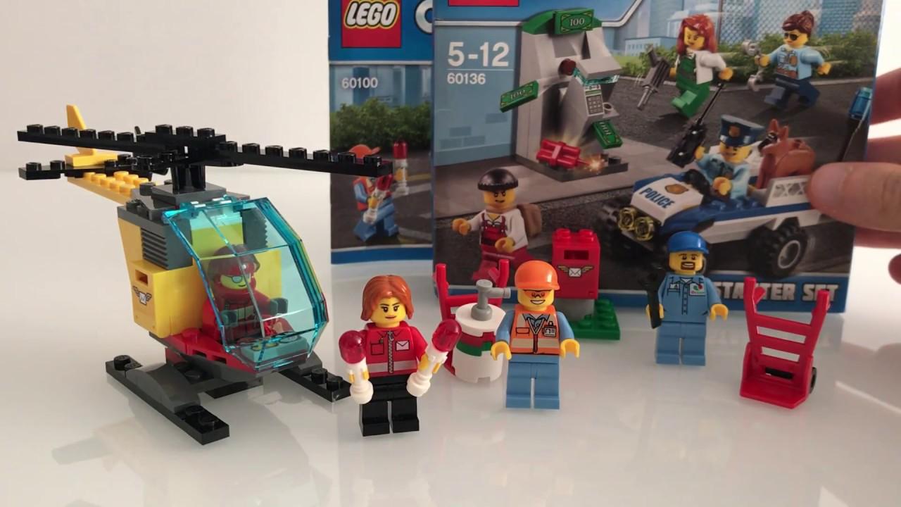 Aeroporto Lego : Lego city starter set aeroporto youtube