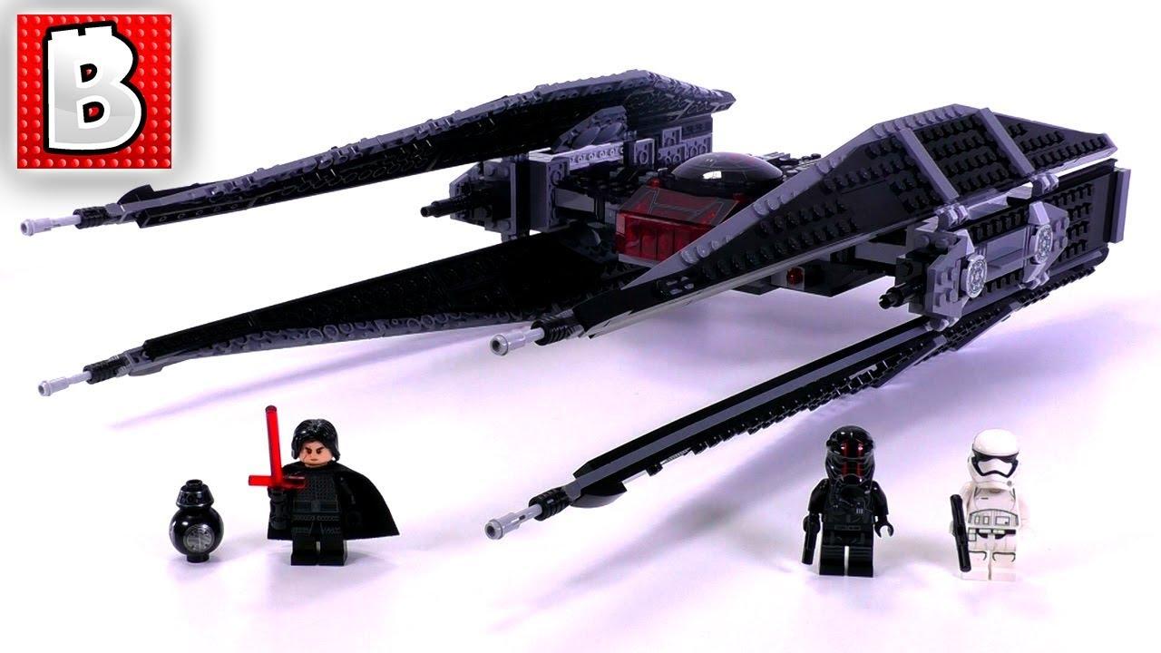LEGO Star Wars Episode VIII Kylo Ren's Tie Fighter 75179 ...