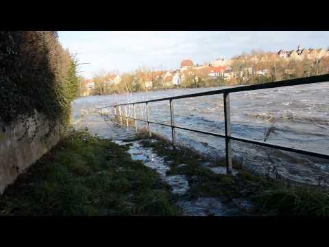04.01.15 Neckar Hochwasser in Lauffen
