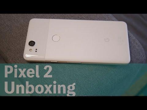 Google(グーグル)のフラグシップスマホことPixel 2の開封!ファーストインプレッション/Pixel 2 (Clearly White) Unboxing