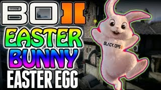 "BO2 - ""Secret Easter Bunny Easter Egg"" on Standoff Black Ops 2 (Unlock Tutorial Inside!!) 