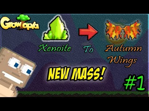 Growtopia - Xenonite To Autumn Wings #1 I New Mass! 6K SEEDS!