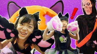 ハウステンボスのハロウィンイベント、化け猫がおそってくる!イベント...
