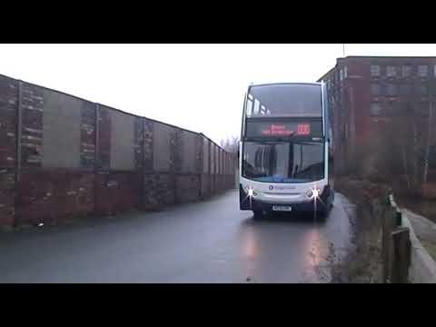 Alexander Dennis Enviro400H Ashton Bus Depot 19/12/2017