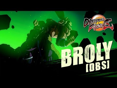 DRAGON BALL FighterZ - Broly [DBS] Character Trailer