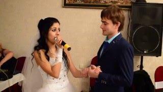 Свадьба в Нальчике - поёт невеста!Самая красивая песня!