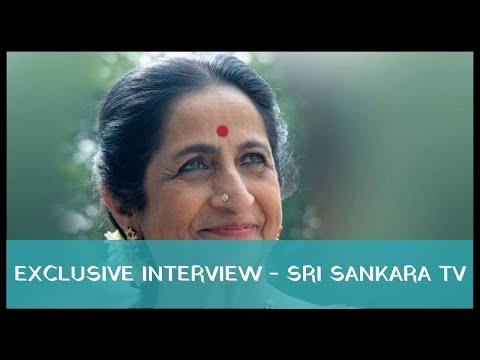 Exclusive interview with Smt. Aruna Sairam - Sri Sankara TV 2011