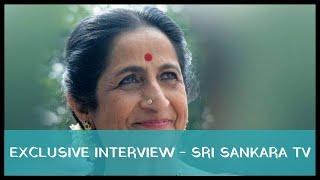 Bio Data: Exclusive interview with Smt. Aruna Sairam - Sri Sankara TV 2011