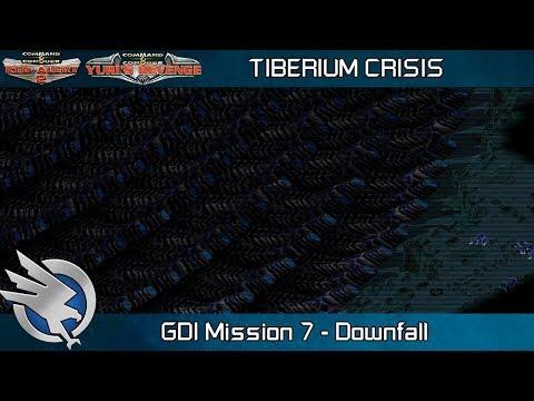 Tiberium Crisis Red Alert 2 - GDI Mission 7, Downfall