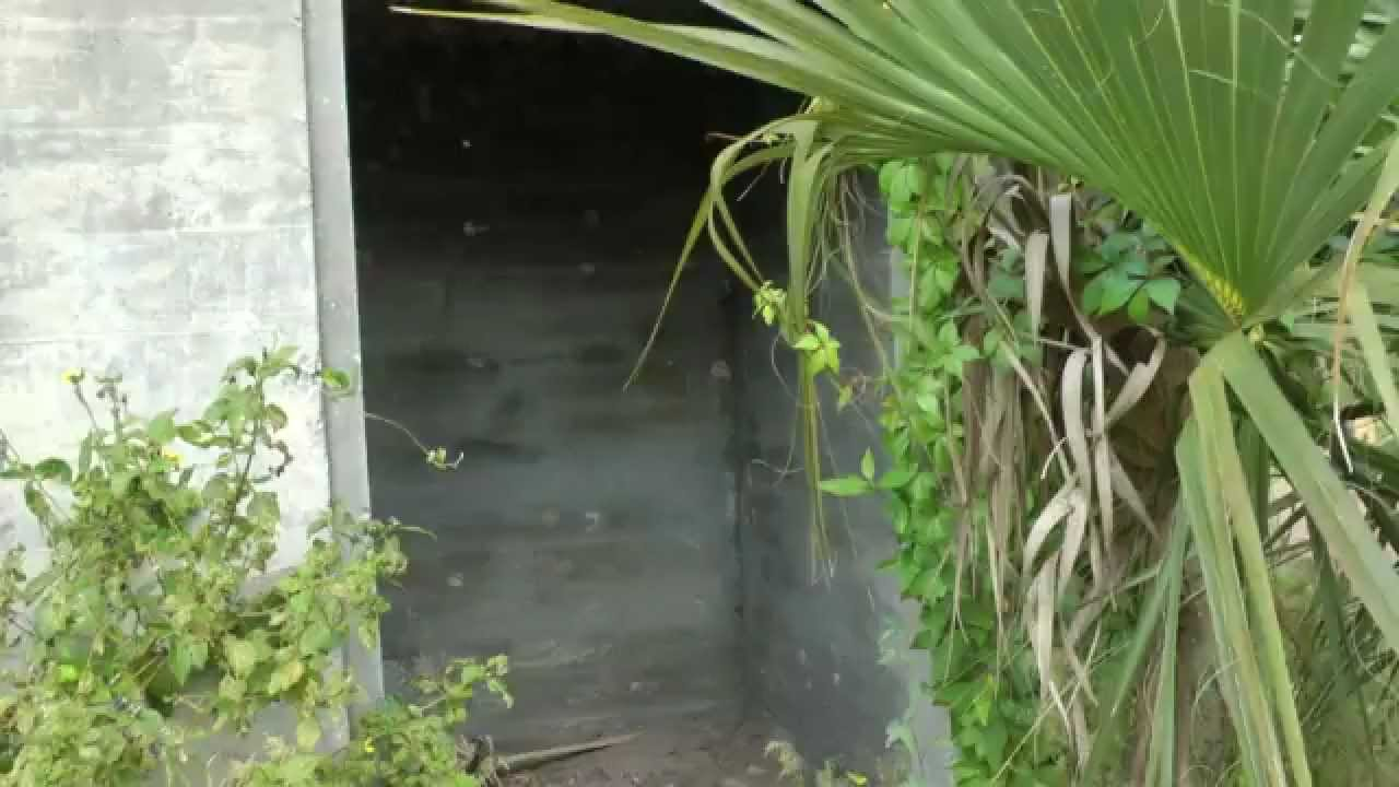 Inside Abandoned World War 2 Storage Building In Lehigh Acres, Florida