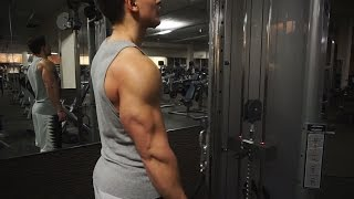 Arm Workout with Censor (Triceps)