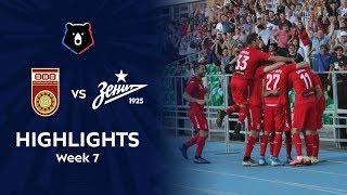 Highlights FC Ufa vs Zenit (1-0)