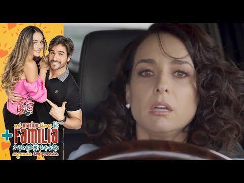 Susana, a punto de causar un terrible accidente | Mi marido tiene más familia - Televisa