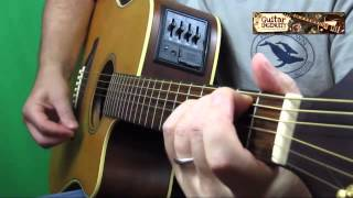 Easy Guitar Strumming Pattern to Teardrops on my Guitar and other Songs