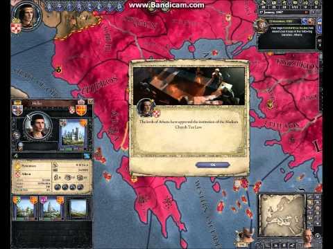 Crusader Kings 2 Duke of Athens!