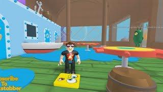 ROBLOX: FUGINDO DO SIRI CASCUDO ESCONDIDO!!! (Escape the Krusty Krab Obby!)