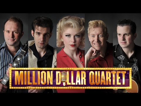 Million Dollar Quartet at Sierra Repertory Theatre