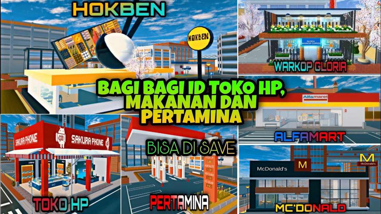 Download Bagi - Bagi ID Toko HP, Makanan Dan SPBU    SAKURA SCHOOL SIMULATOR