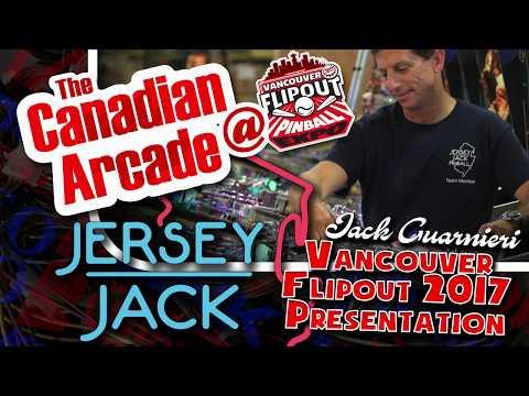 Jack Guarnieri of Jersey Jack Pinball Speaker Session at Vancouver FlipOut Pinball Expo 2017