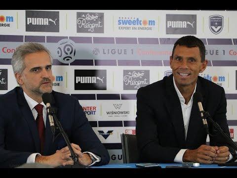 La présentation de Gustavo Poyet à la presse