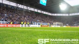 1. FC Magdeburg gegen FC Augsburg - Rein ins blau-weiße Glück - www.sportfotos-md.de
