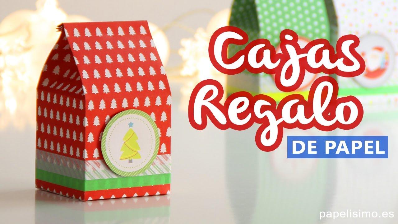 Cajas De Regalo Originales, Tetrabrik Fácil Y Rápido