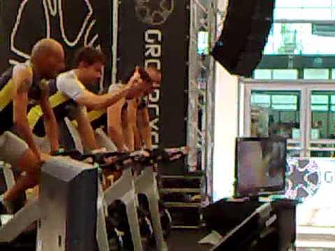 indoor cycling,rimini wellness 2010,circa 200 instructors