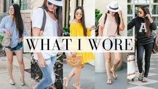 WHAT I WORE - 10 Cute and Casual Outfits - 5/3/18 | LuxMommy