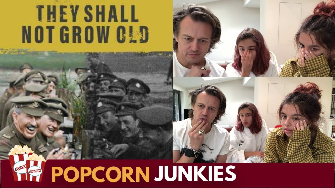 Peter Jackson's They Shall Not Grow Old (Online Trailer) - Nadia Sawalha &  Family Reaction