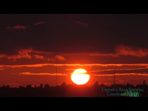 ☀ Красивые Виды Солнечного Заката / Time-lapse