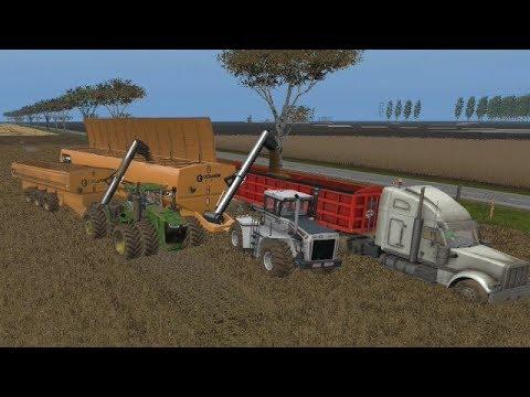 Farming simulator 17 Timelapse Australian x16 Map Broad acres Ep#10