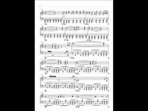Suicide mission - Piano arrangement