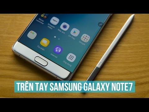 Trên tay Samsung Galaxy Note7 Silver Titanium, đẹp không tì vết