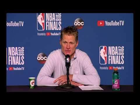 Steve Kerr   Game 4 NBA Finals Press Conference