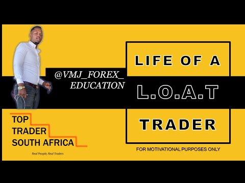 VMJ FOREX EDUCATION - Life of a Trader | Top Trader SA (2020)